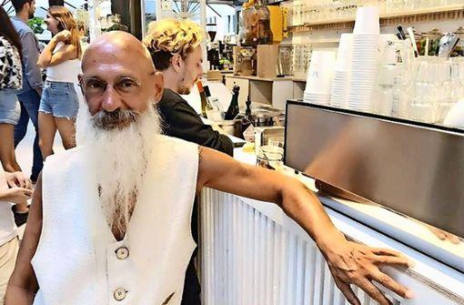 Stammgast Frank Laske kommt seit Jahren täglich ins Tatti.  Foto: ubo