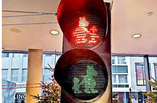 Verkehrsminister unterstützt  Äffle & Pferdle-Ampel