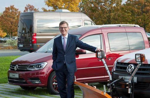 Professor Thomas Edig, Personalvorstand der Volkswagen Nutzfahrzeuge Foto: Volkswagen Nutzfahrzeuge