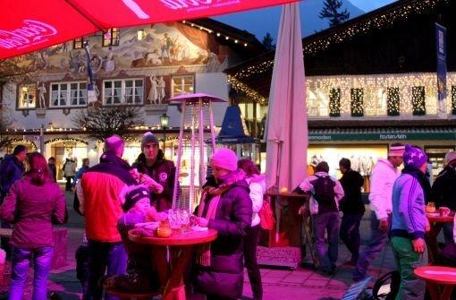Garmisch: Weltmeister im Feiern