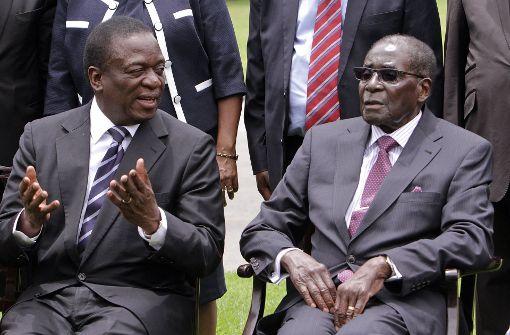 Ex-Vize Mnangagwa wird neuer Präsident von Simbabwe