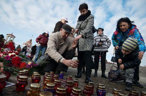 Russland gedenkt Opfer von Absturz