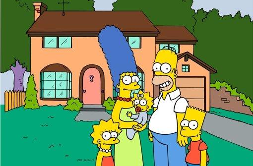 Die gelbe Familie aus Springfield ist Kult im TV. Foto: AP/Fox Broadcasting Co.