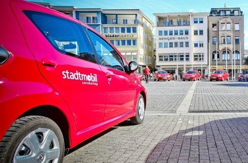 Schon seit 1992 auf dem Markt, in zwischen aber von der Daimler-Tochter Car2go bedrängt: Stadtmobil. Foto: Peter-Michael Petsch