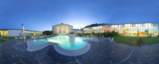 Wellness und Erholung mit Thermalwasser  Foto: Parkhotel Jordanbad