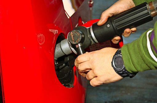Bisher gibt es rund 900 Erdgas-Tankstellen in Deutschland. Foto: Erdgas Mobil
