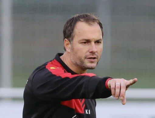 Kai Oswald ist Co-Trainer des VfB Stuttgart und spricht im Interview über seine Berufung und die anstehenden Aufgaben mit dem Club. Foto: Pressefoto Baumann
