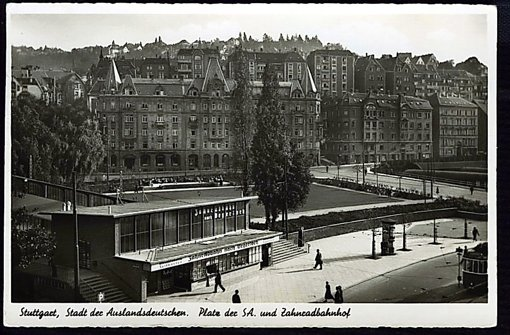 """Die Nazis benannten den Marienplatz in """"Platz der SA"""" um Foto: StN"""