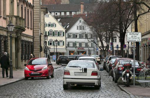 Umwandlung der Altstadt in eine Fußgängerzone