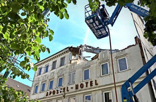 Das Apostel-Hotel ist Geschichte