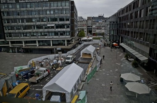 Händler fordern Rückhalt bei der Stadt