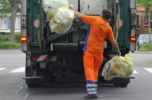 Explosion in Müllwagen