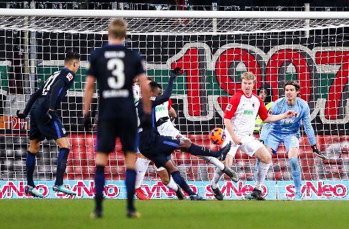 Hertha BSC mit Lastminute-Punkt beim FC Augsburg