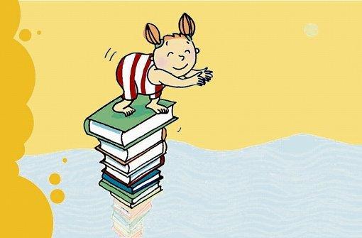 Kinder- und Jugendbuchwochen in Stuttgart: Startschuss für kleine Leseratten Foto: Stefanie Clemen