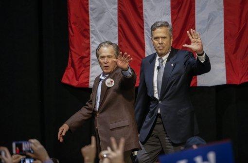 Jeb Bush holt sich Hilfe vom großen Bruder