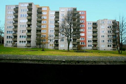 Die Häuser an der Bottroper Straße werden saniert. Foto: Achim Zweygarth