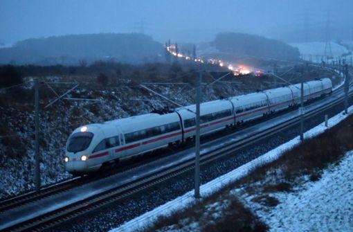 Zugverkehr in NRW eingestellt