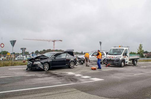 Der Unfall geschah wegen eines Fehlers beim Linksabbiegen. Foto: SDMG