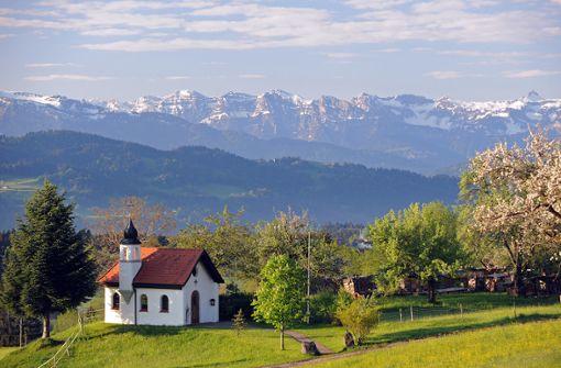 Wandern in Scheidegg – tief ins Innere und hoch hinaus
