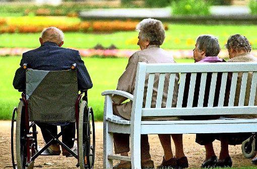 Was tun, wenn die Bewohner einer Stadt immer älter werden?