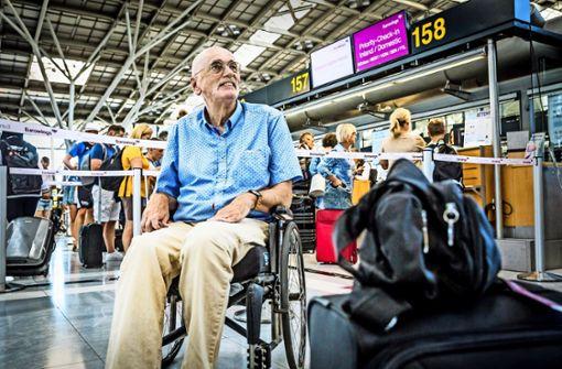 Behinderter Fluggast beklagt Diskriminierung