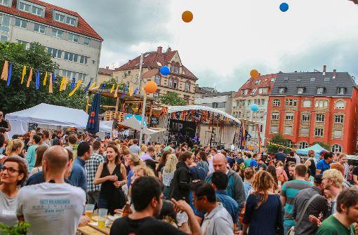 Hier wird in Stuttgart im Sommer gefeiert