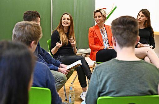 Schüler schnuppern Gründergeist
