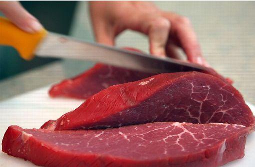 Einbrecher stehlen Fleisch