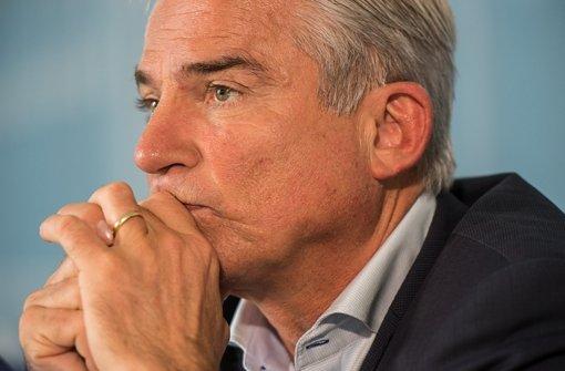 Spagat für Thomas Strobl: Als Vize-Bundesvorsitzender stützt er seine Parteichefin Merkel. Als Chef der Südwest-CDU ist das keine behagliche Position. Foto: dpa