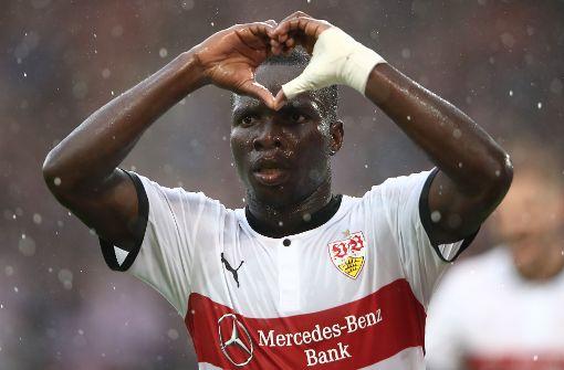 Chadrac Akolo ist eine Option für die rechte Seite. Der Siegtorschütze gegen Wolfsburg hat einen Gesamtwert von 70. Foto: Bongarts