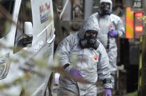 Bericht: Ermittler wollen Nowitschok-Täter identifiziert haben