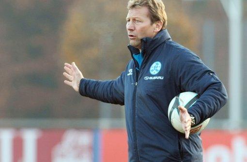 Der Interimstrainer der Stuttgarter Kickers, Guido Buchwald. Foto: Pressefoto Baumann