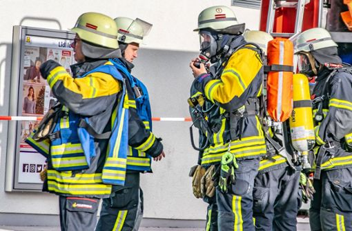 Ein Großaufgebot der Feuerwehr war vor Ort.  Foto: 7aktuell.de/ Gruber