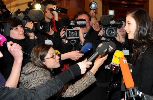 Lena Meyer-Landrut - seitdem klar ist, ...  Foto: dpa