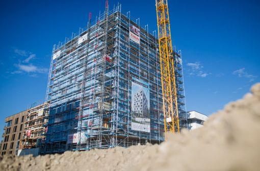 Größtes Holzhochhaus Deutschlands entsteht