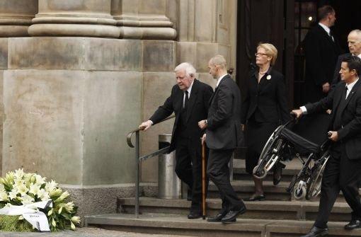 Loki Schmidt Beerdigung