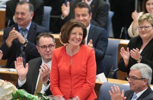 Malu Dreyer bleibt Ministerpräsidentin