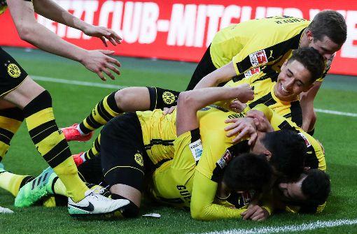 Dortmund siegt im Borussen-Duell
