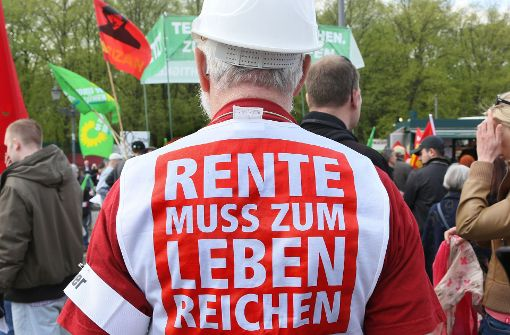 """""""Ein Rentenwahlkampf ist unvermeidlich"""""""