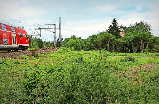 Areal an der Bahnlinie wird neu gestaltet