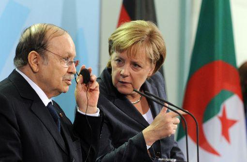Angela Merkel reist nicht nach Algerien