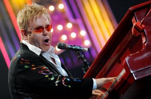 Elton John hat sein Konzert in Heilbronn am 7. Juli abgesagt. Foto: dpa