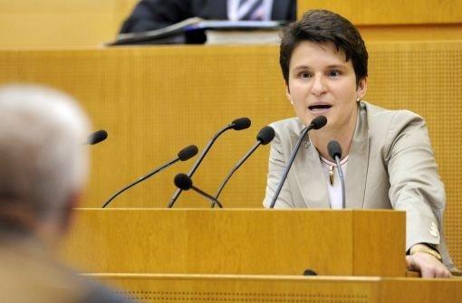Umweltministerin Tanja Gönner Foto: dpa