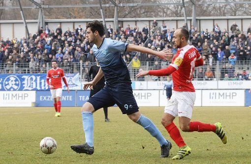 Stuttgarter Kickers verlieren 0:1 gegen Koblenz