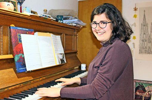 Begeistert sich für schwedische Chormusik: Anne Bischoff Foto: Caroline Holowiecki