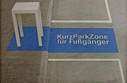 Harald Marquardt hat  eine Kurzparkzone für Fußgänger eingerichtet. Foto: z/Kultur am Kelterberg
