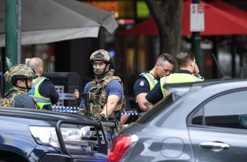 Nach dem Angriff eines Mannes in Melbourne ermittelt die Polizei. Foto: AAP