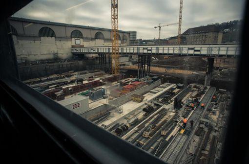 S21-Baugrube im Herzen der City Foto: Lichtgut/Max Kovalenko