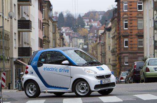 Das Pflänzchen E-Car-Sharing bleibt viel zu klein