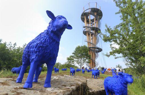 Der Schönbuchturm ist erst vor kurzem eröffnet worden. Foto: factum/Granville